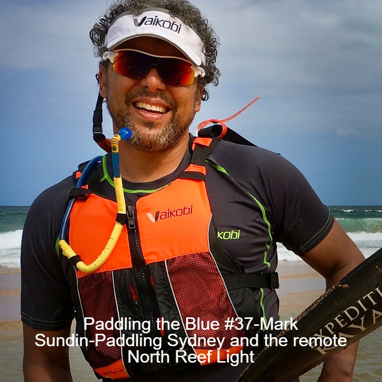 Paddling the Blue #37-Mark Sundin-Paddling Sydney and the remote North Reef Light