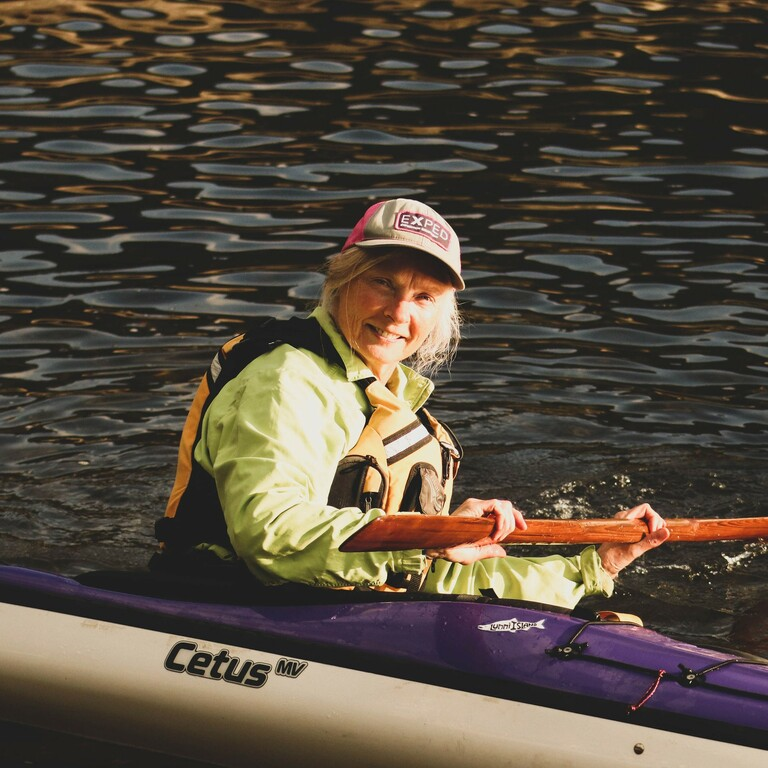 Paddling the Blue #45 – Susan Conrad – Kayaking the Sea of Dreams on the Inside Passage